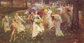 The Progress of Spring by Charles Ward