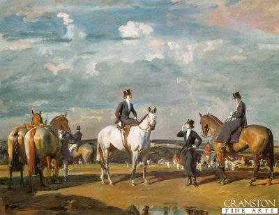 Why Werent You Out Yesterday? by Sir Alfred Munnings.