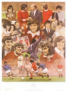 George Best by Stephen Doig. (B)