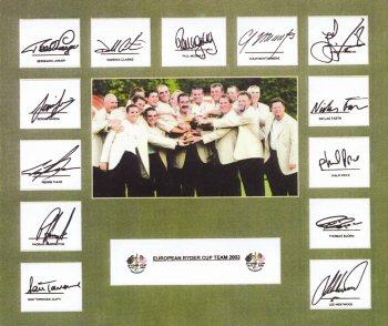 Ryder Cup 2002 (Photograph)