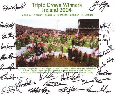 Ireland Triple Crown 2003/04 (Photograph)