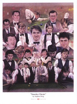 Snooker Greats by Stephen Doig.