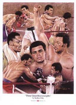 Boxing Greats by Stephen Doig.