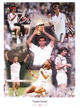 Tennis Greats (Photographs)