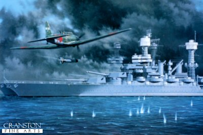 Battleship Row by Stan Stokes. (C)