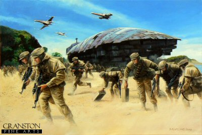 Commando Raid on Kothlis by David Pentland. (P)