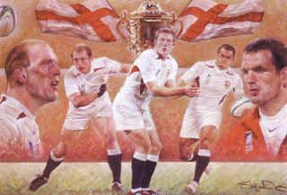 Rugby World Cup Winners 2003 by Stephen Doig.