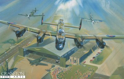 Battle of Britain Memorial Flypast by Timothy OBrien.