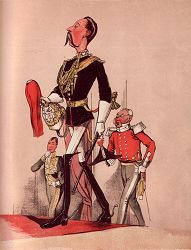 Captain of the Royal Horse Guards by Major T. S. Seccombe (P)