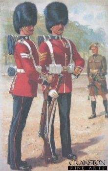 Irish Guards by Harry Payne.