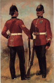 South Wales Borderers by Harry Payne.