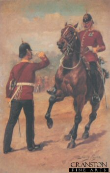 Hampshire Regiment by Harry Payne.