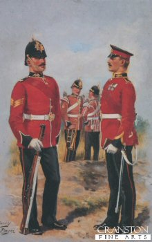 The Kings Own Lancaster Regiment by Harry Payne.