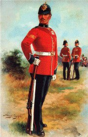 The West Kent Regiment by Harry Payne.