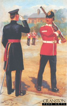 The Worcestershire Regiment by Harry Payne.