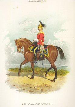 2nd Dragoon Guards by Richard Simkin.