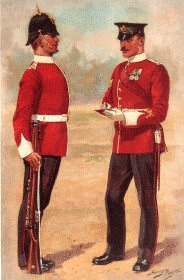 The Ox and Bucks Light Infantry by Harry Payne.