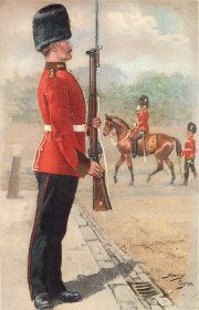 Northumberland Fusiliers by Harry Payne.
