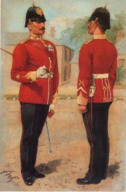 Wiltshire Regiment by Harry Payne.