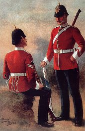 The North Staffordshire Regiment by Harry Payne