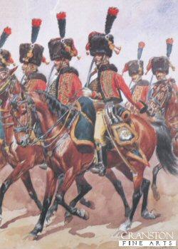 Grande Imperiale - Chasseur a Cheval - Tenue de Parade by L Rousselot