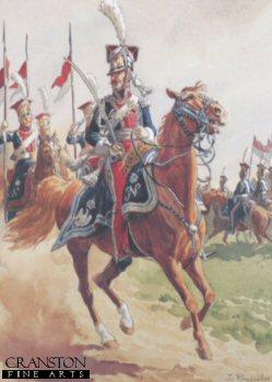 Garde Imperiale Chevau Legers Polonais Grande Tenue by L Rousselot