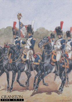 Garde Imperiale - Grenadiers A Cheval - Tenue de Parade by L Rousselot