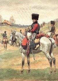 Grande Imperiale - Chasseur a Cheval - Trompette Tenue de Campagne by L Rousselot