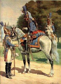 Garde Imperiale Dragons de LImperatrice - Trompettes Grande Tenue  by L Rousselot