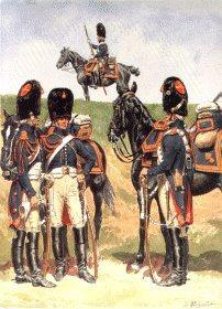 Garde Imperiale Grenadiers a Cheval - Tenue de Campagne 1806-1814 by L Rousselot
