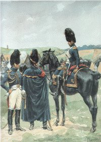 Garde Imperiale Grenadiers a Cheval - Officers Tenue de Campagne 1805-1814 by L Rousselot