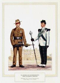 7th Duke of Edinburghs Own Gurkha Rifles by Douglas Anderson