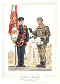 Prince of Wales Own Regiment of Yorkshire by Douglas Anderson