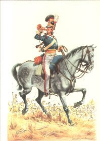 Trumpeter, Royal Horse Guards 1815 by Douglas Anderson
