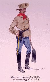 General Custer by Richard Knotel