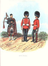 Scots Guards by Richard Simkin (P)
