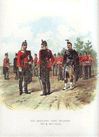 Highland Light Infantry by Richard Simkin