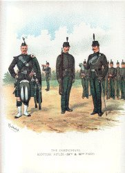 Cameronians by Richard Simkin