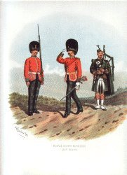 Royal Scots Fusiliers by Richard Simkin