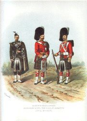 Seaforth Highlanders by Richard Simkin