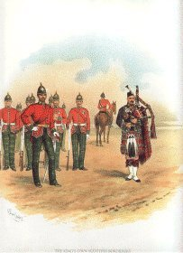 Kings Own Scottish Borderers by Richard Simkin