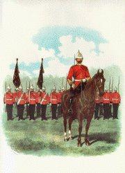 Royal Sussex Regiment by Richard Simkin (P)