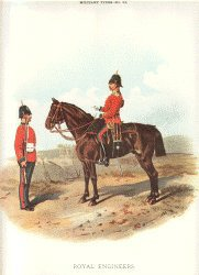 Royal Engineers by Richard Simkin