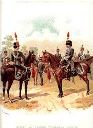 Wiltshire Yeomanry by Richard Simkin
