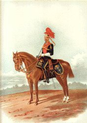 12th Lancers by Richard Simkin.