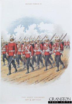 Essex Regiment by Richard Simkin