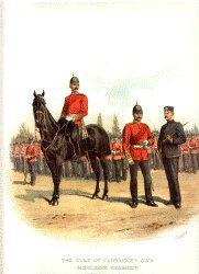 Middlesex Regiment by Richard Simkin (P)