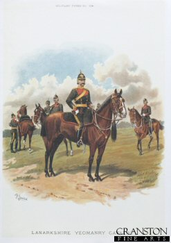 Lanarkshire Yeomanry by Richard Simkin