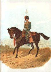 7th Hussars by Richard Simkin