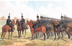 Royal East Kent Mounted Rifles by Richard Simkin